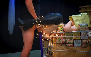Fuck The Christmas Shopping - First Time Anal Is Your Christmas True Nearby life - Pov Anal Nearby Pussy Fuck