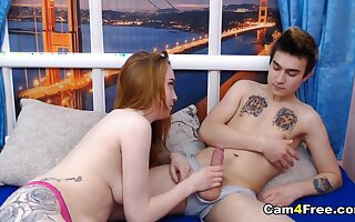 Hot Teen Couple Fucking On Cam For The First Time