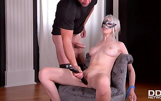 Masked And Tied Girl Gets Had Intercourse In Butt - Arteya Dee