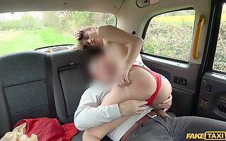 Curvy nuisance promoter rides the chunky dick nearby crazy manner