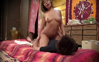 Glamorous Japanese Slut Rides Hard Dick