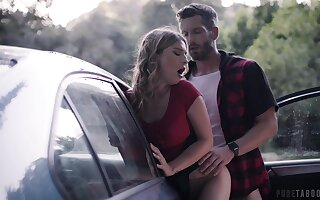 Criminal horny pamper with exact tortuosities Kristen Scott is banged really hard