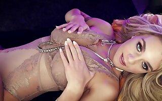 Gabbie Carter Light-complexioned Spend #033