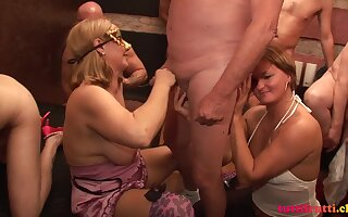 Swinger sex combo unite with horny Get hitched Ingrid and slattern