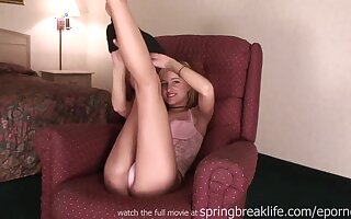 Exciting Girl Concerning Hanker Legs teenage porn