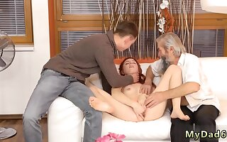 Mom and sun sex Unexpected experience with an older