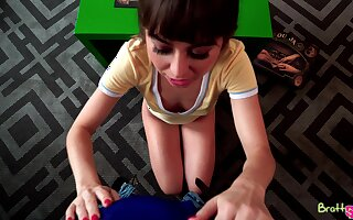 X-rated big bottomed black head Riley Reid singular loves riding locate